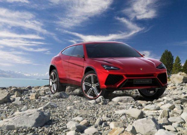 Кроссовер нового поколения Lamborghini Urus 2018