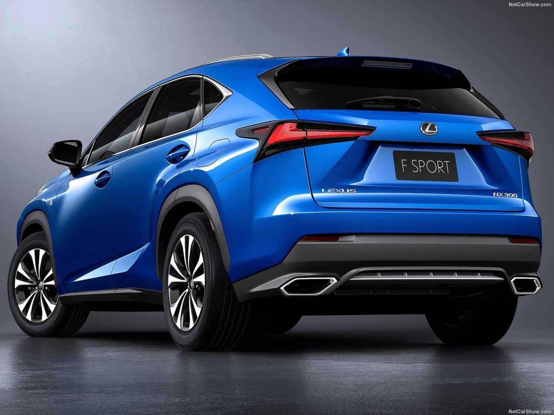 Lexus NX 2018 года