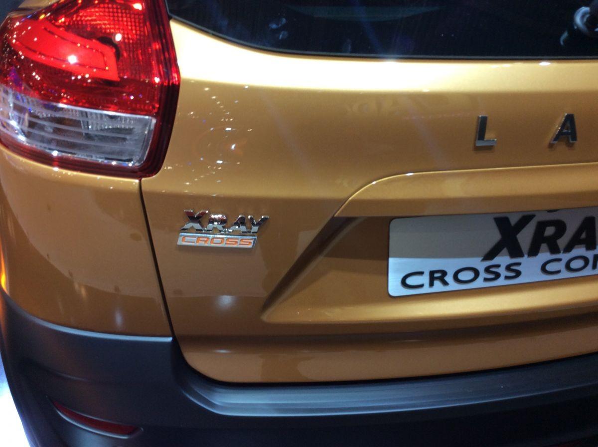Lada XRAY Cross 2018 года