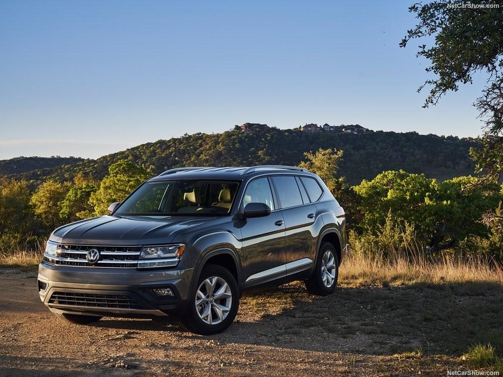 Volkswagen Atlas 2018 года