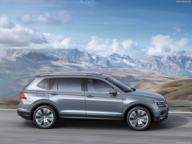 Volkswagen Tiguan 2018 года