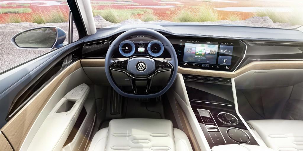 Volkswagen Touareg 2018 года