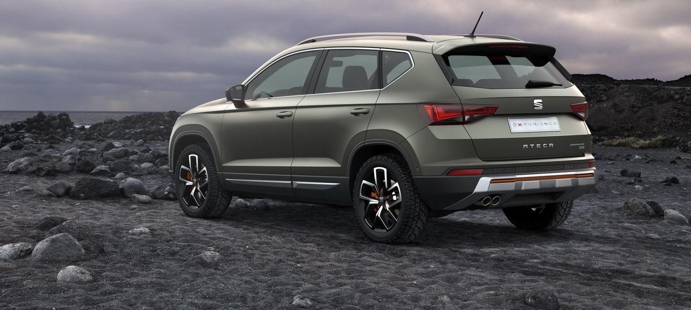 Seat Ateca FR 2018 модельного года