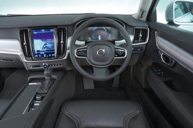 Volvo S90 2018 года интерьер