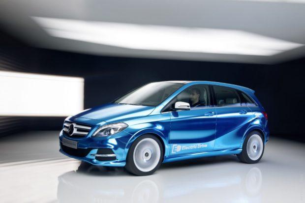 Mercedes B-Class Electric 2018