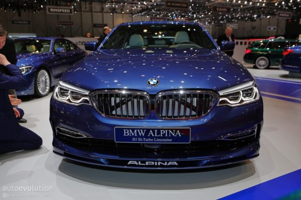 BMW Alpina B5 Bi-Turbo 2018