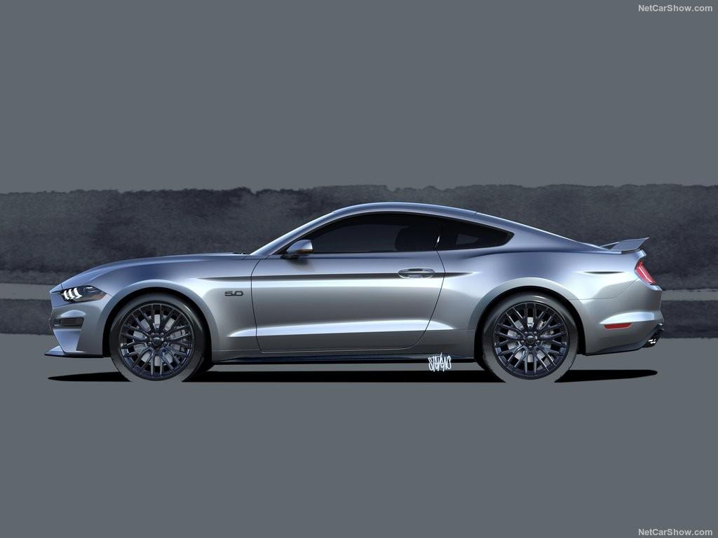 Mustang 2017 Shelby >> Смотри! Ford Mustang 2018 модельного года