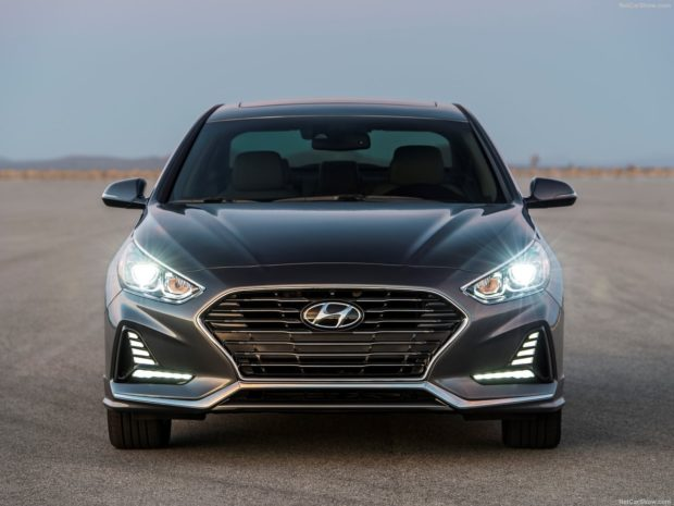 Hyundai Sonata 2018 года