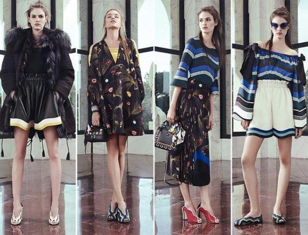 модные луки лето 2018 шорты юбки простые
