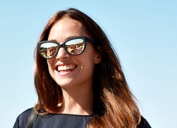 модные очки от солнца 2018: очки отражающие светлые