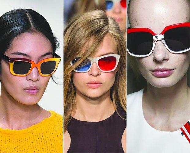 модные очки от солнца 2019-2020: массивные оправы
