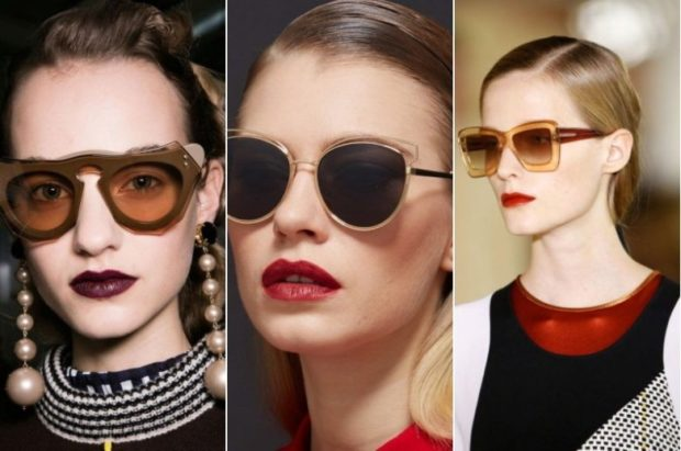 модные очки от солнца 2019-2020: очки с оригинальными перемычками