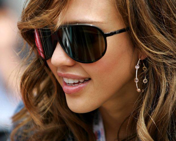 модные очки от солнца 2018: черные авиаторы