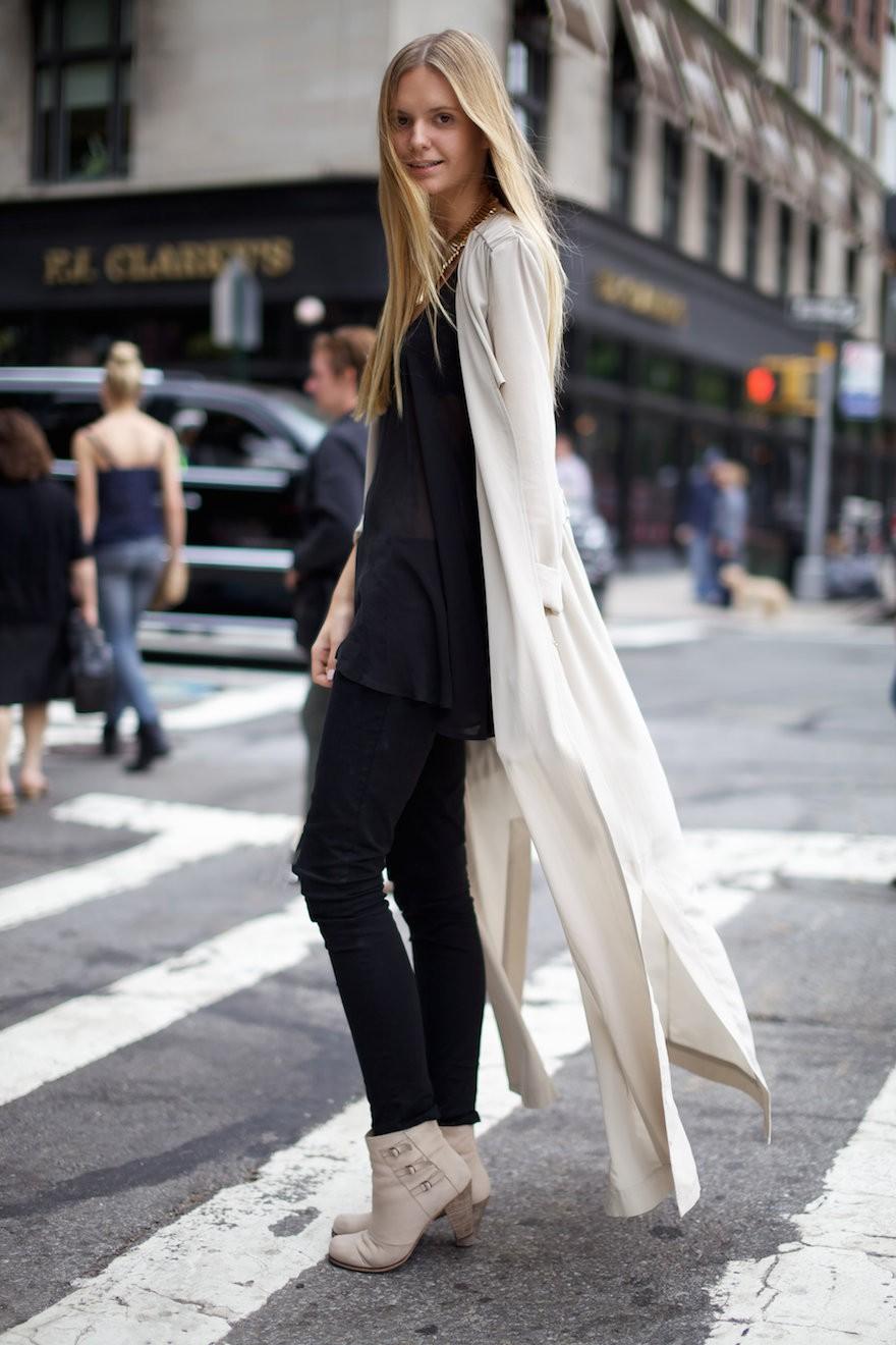 модные женские кардиганы: белый длинный тонкий