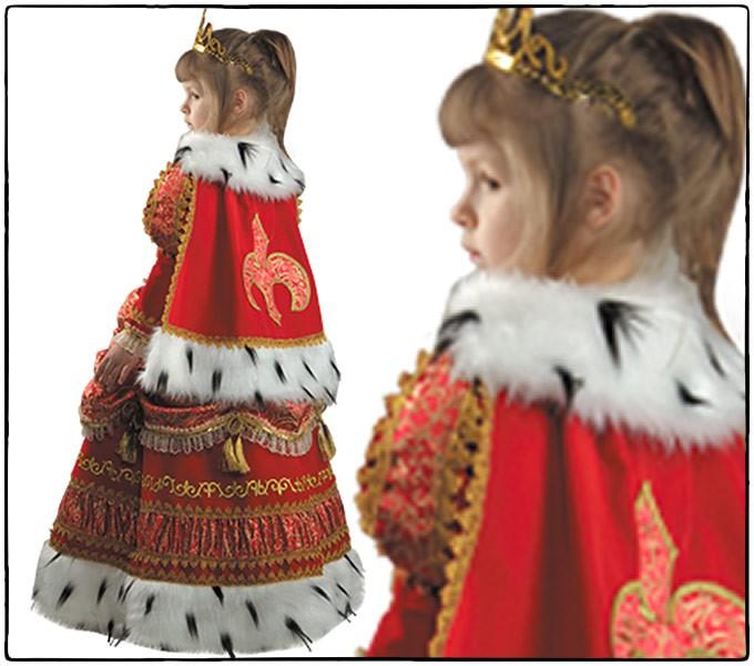 Костюм русской царицы для девочки своими руками 55