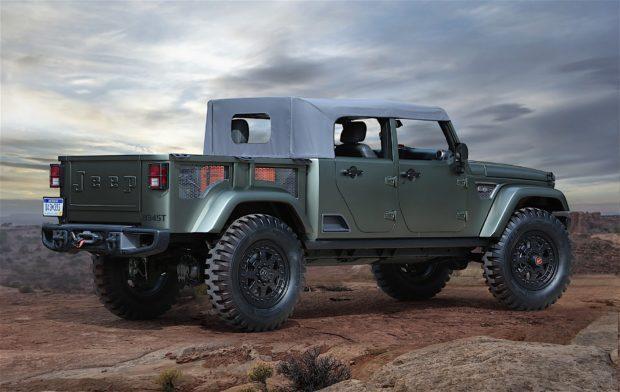 Jeep Wrangler Pickup 2018