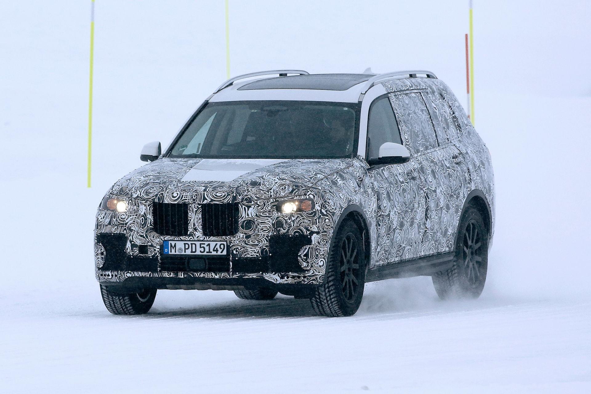 Смотри! BMW X7 2019 модельного года