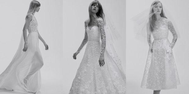 свадебная коллекция Elie Saab 2018 новые тренды длинное короткое гипрю