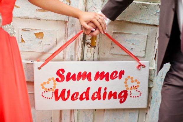 Свадьба летом 2018