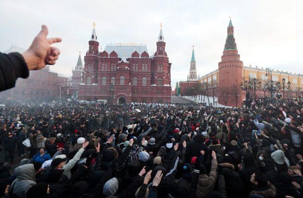 Бунт в России 2018