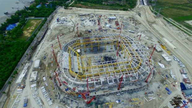 стоимость стадиона Ростов арена