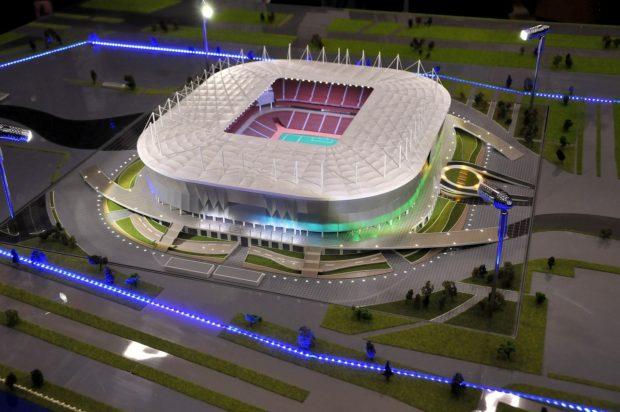 макет стадиона Ростов арена