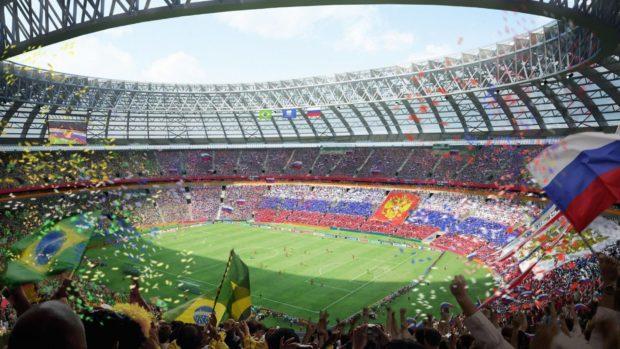 стадионы России к чемпионату мира