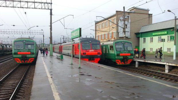 Электричка до Сколково 2018