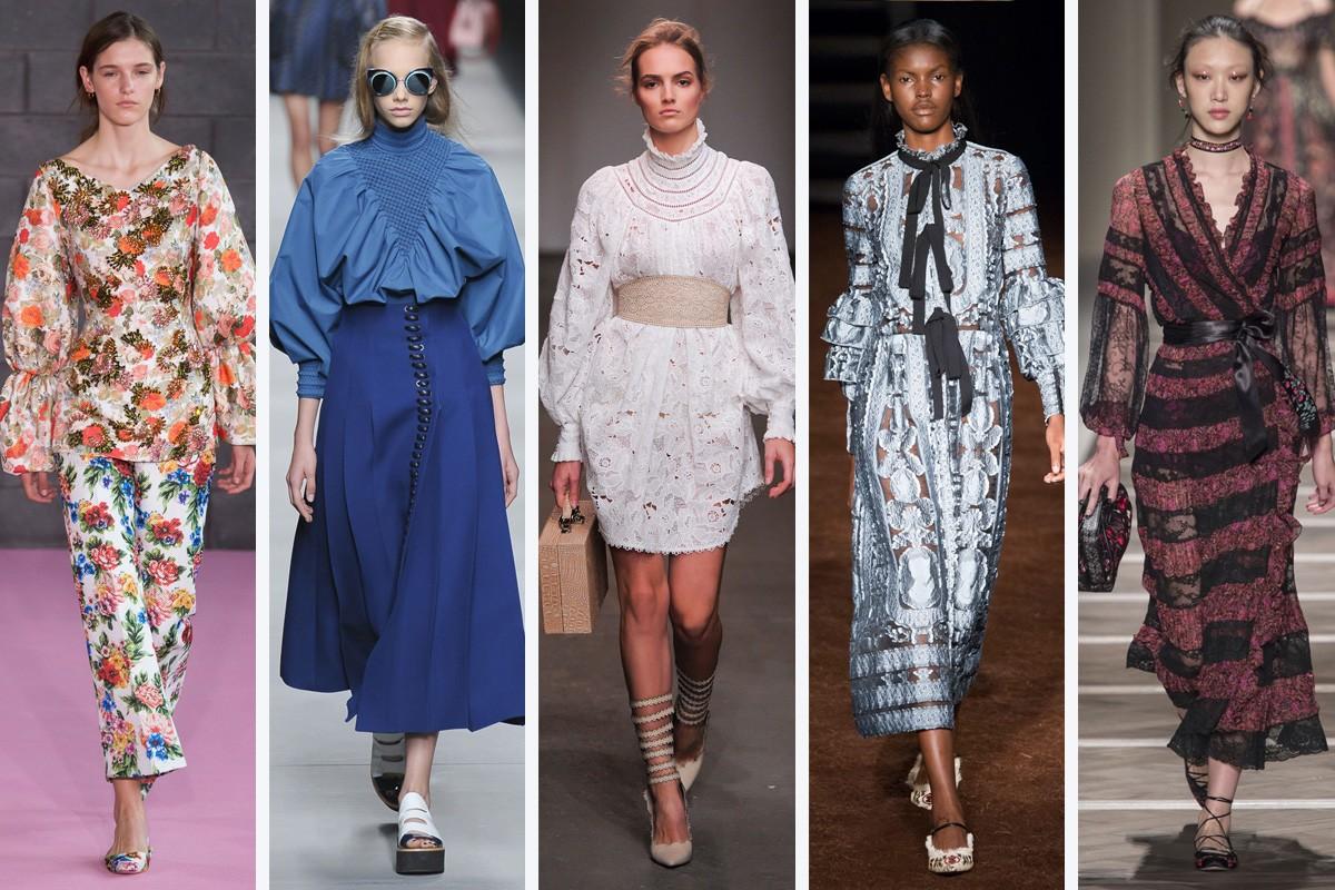 5f0904c04b5 женская мода весна-лето 2019  яркие луки костюм платья длинные