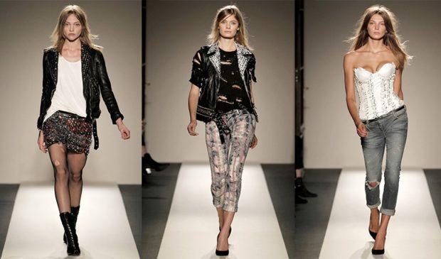 женская мода весна лето 2019: стиль гранж шорты бриджи под топы