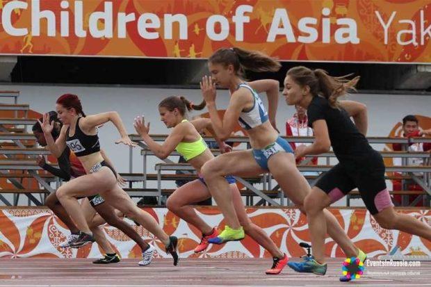 соревнования Дети Азии на Сахалине