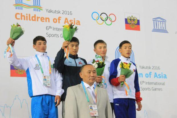 соревнования Дети Азии