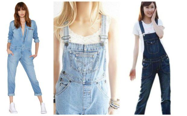 модная одежда 2019-2020: комбинезоны котоновые