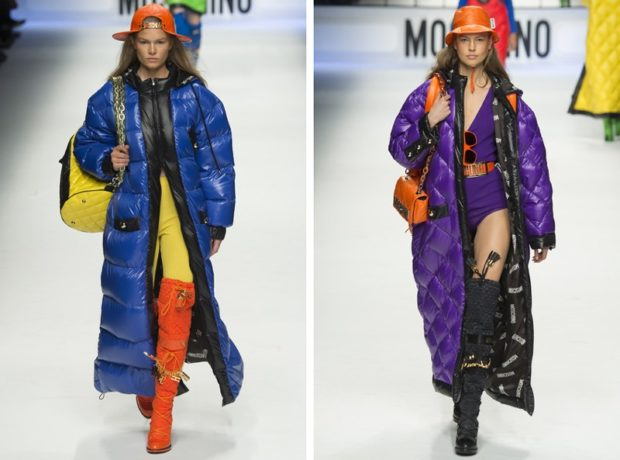 модная верхняя одежда: пальто синее