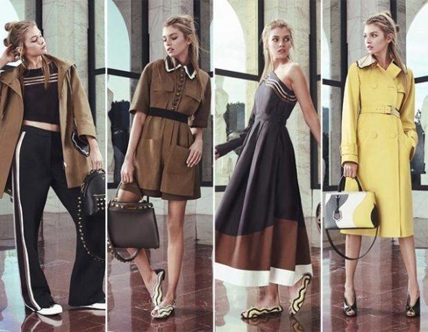 модная весна 2019: брюки платье платье миди пальто желтое