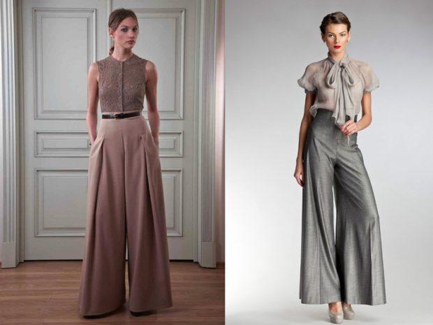 модная весна 2019: брюки кюлоты