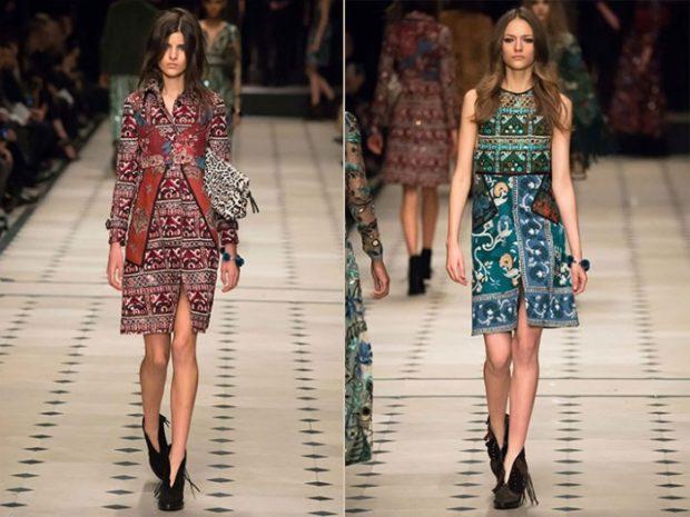 модная весна 2019: платья А-силуэт цветные