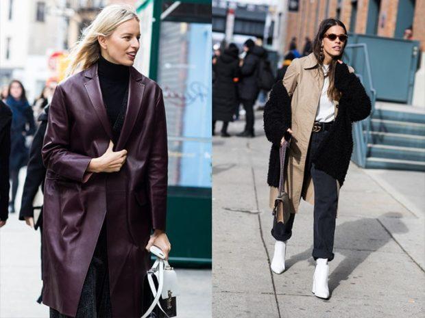 модная зима 2019-2020: плащ куртка свободные