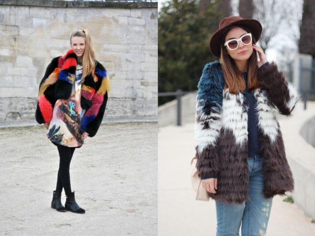 модная зима 2019-2020: в полоску черная с серым