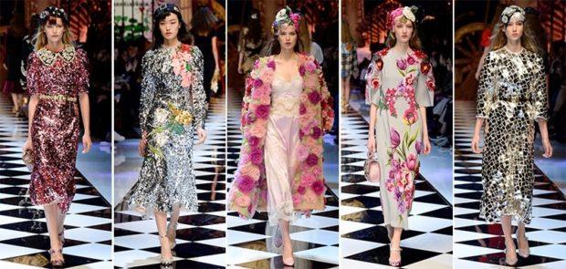 модные цвета весна 2018: разноцветные луки