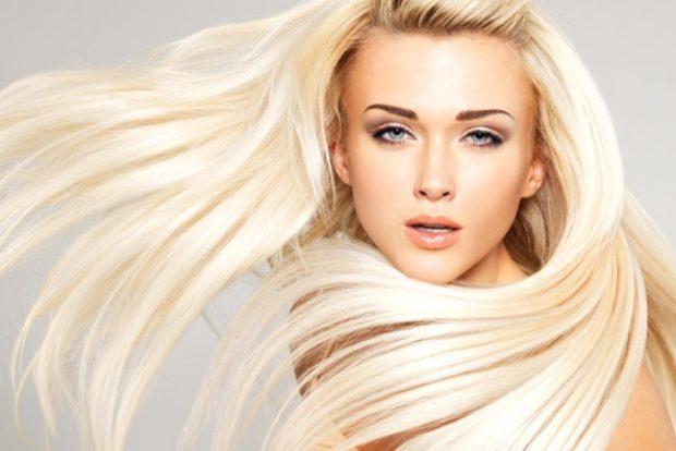 Модные цвета волос в 2018 году: платиновые блонд