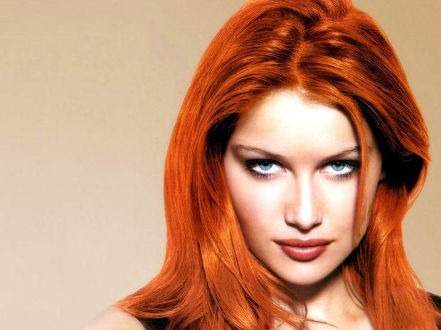 Модные цвета волос в 2018 году: рыжие волосы