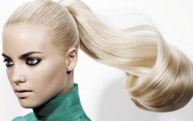 модные цвета волос 2018: платиновый блонд
