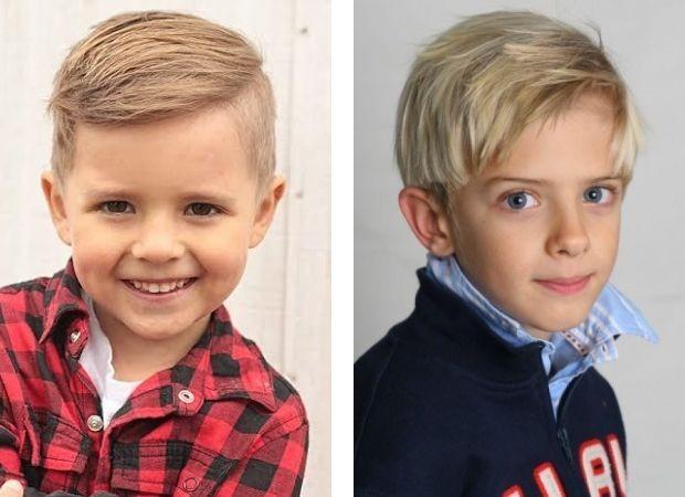 Модные стрижки для мальчиков 2 3 года
