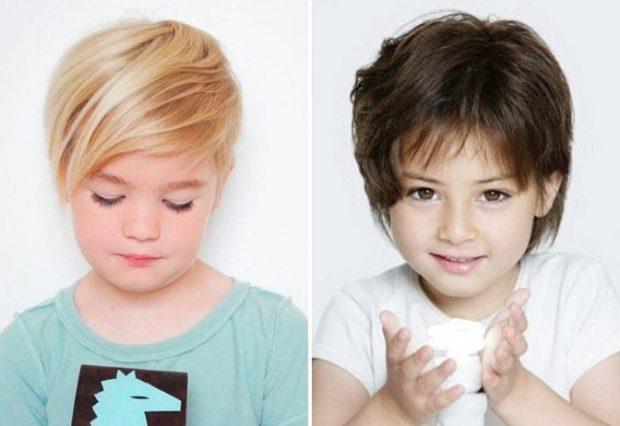 модные детские стрижки 2019-2020: стрижки для девочек стрижки короткие челка косая