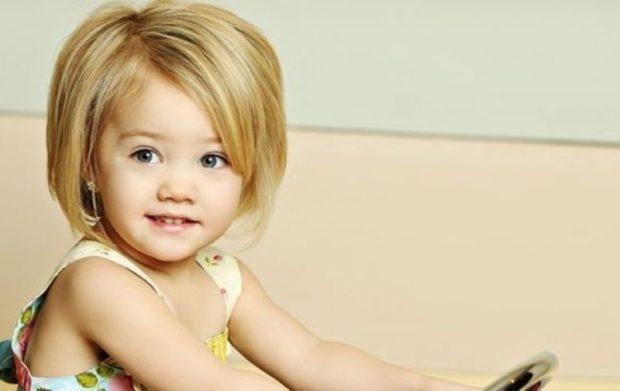 модные детские стрижки 2019-2020: стрижки для девочек каре короткое челка косая