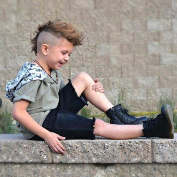 Модные детские стрижки 2019-2020: ля мальчиков ирокез