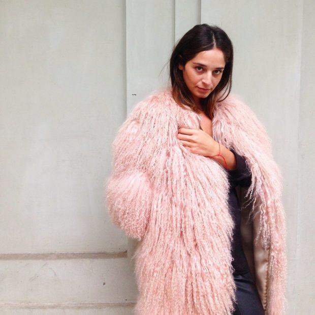 модные женские шубы 2019-2020: шуба розовая альпаки