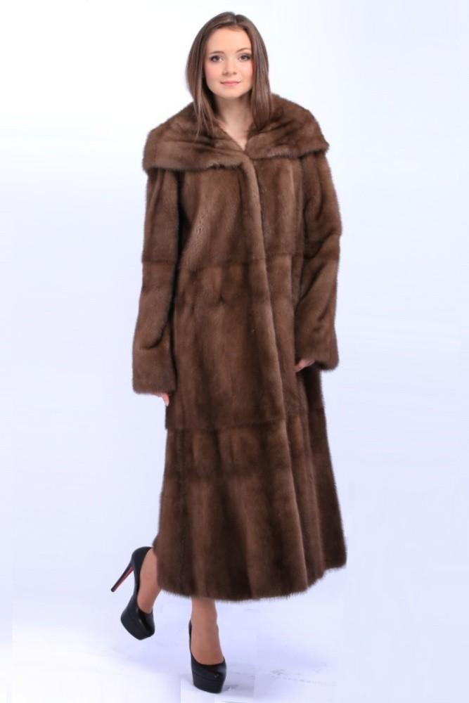 модные женские шубы 2019-2020: шуба классика длинная коричневая
