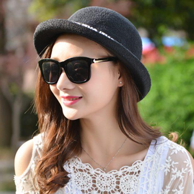 Модные женские прически 2018 года: шляпка котелок